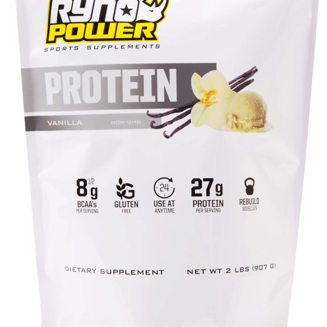 Protein VANILLA FRONT REFLECTION
